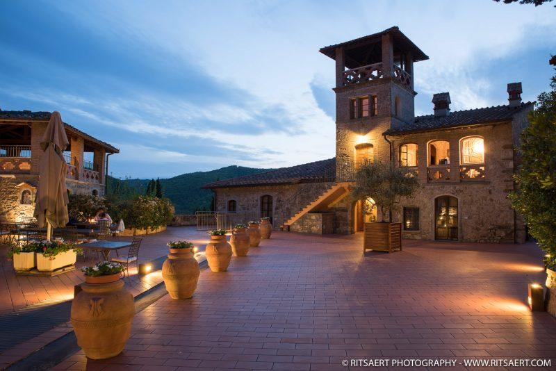 Sunset in Tuscany - Italy