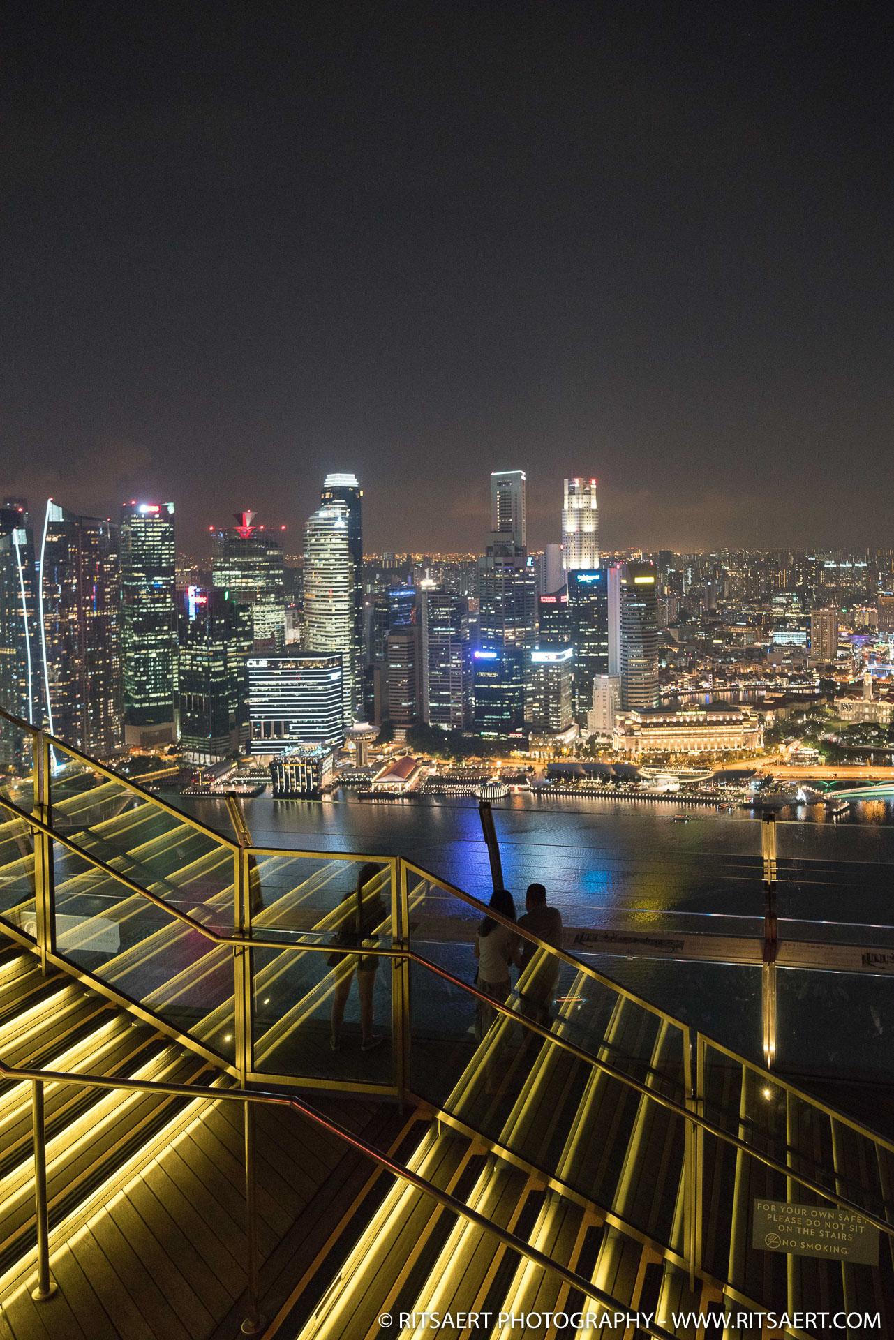 Rooftop - Marina Bay Sands - Singapore