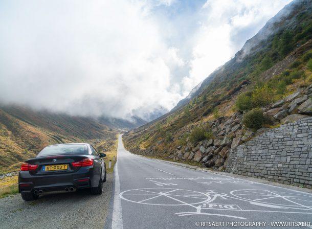 BMW M4 - Stelvio Pass - Italy