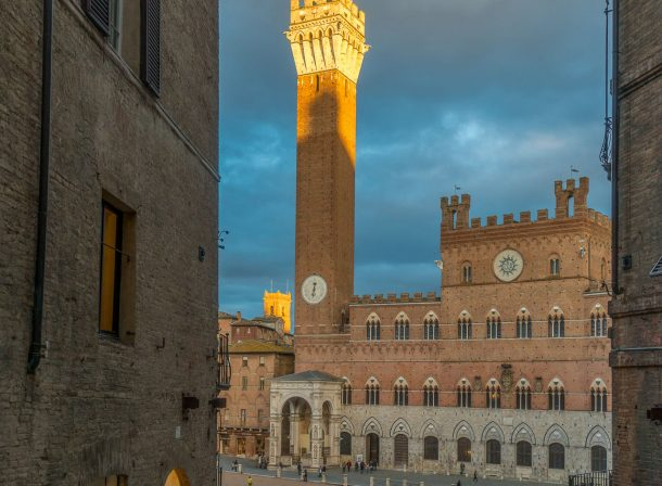 Sunset - Siena - Italy