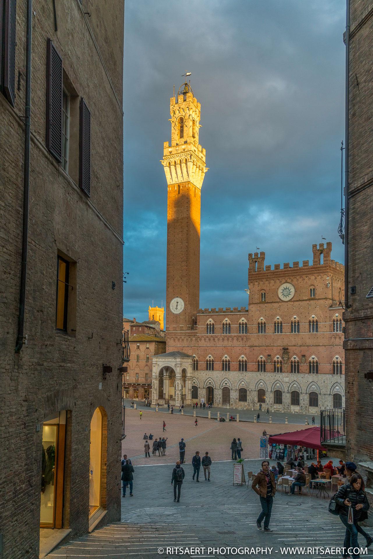 Sunset - Siena - Italy