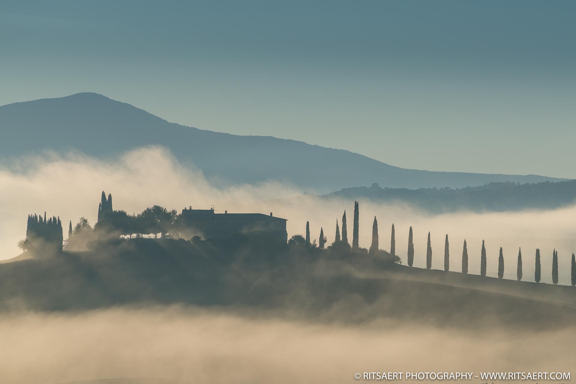 Sunrise - Pienza - Italy