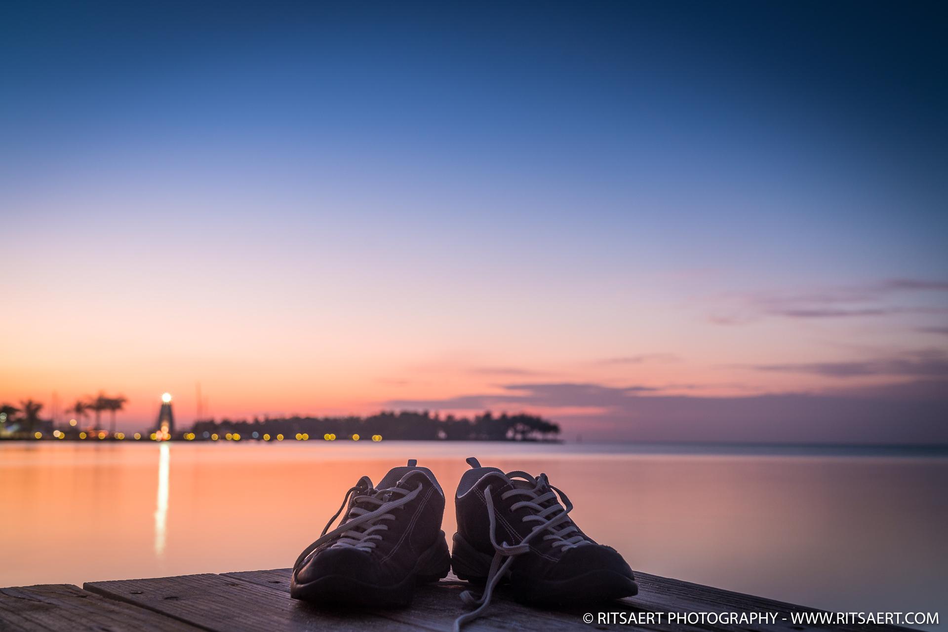 Forgot my shoes..- Marathon Key Florida - USA