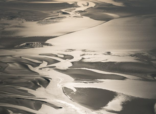 Wadden Sea Islands from the sky - Holland