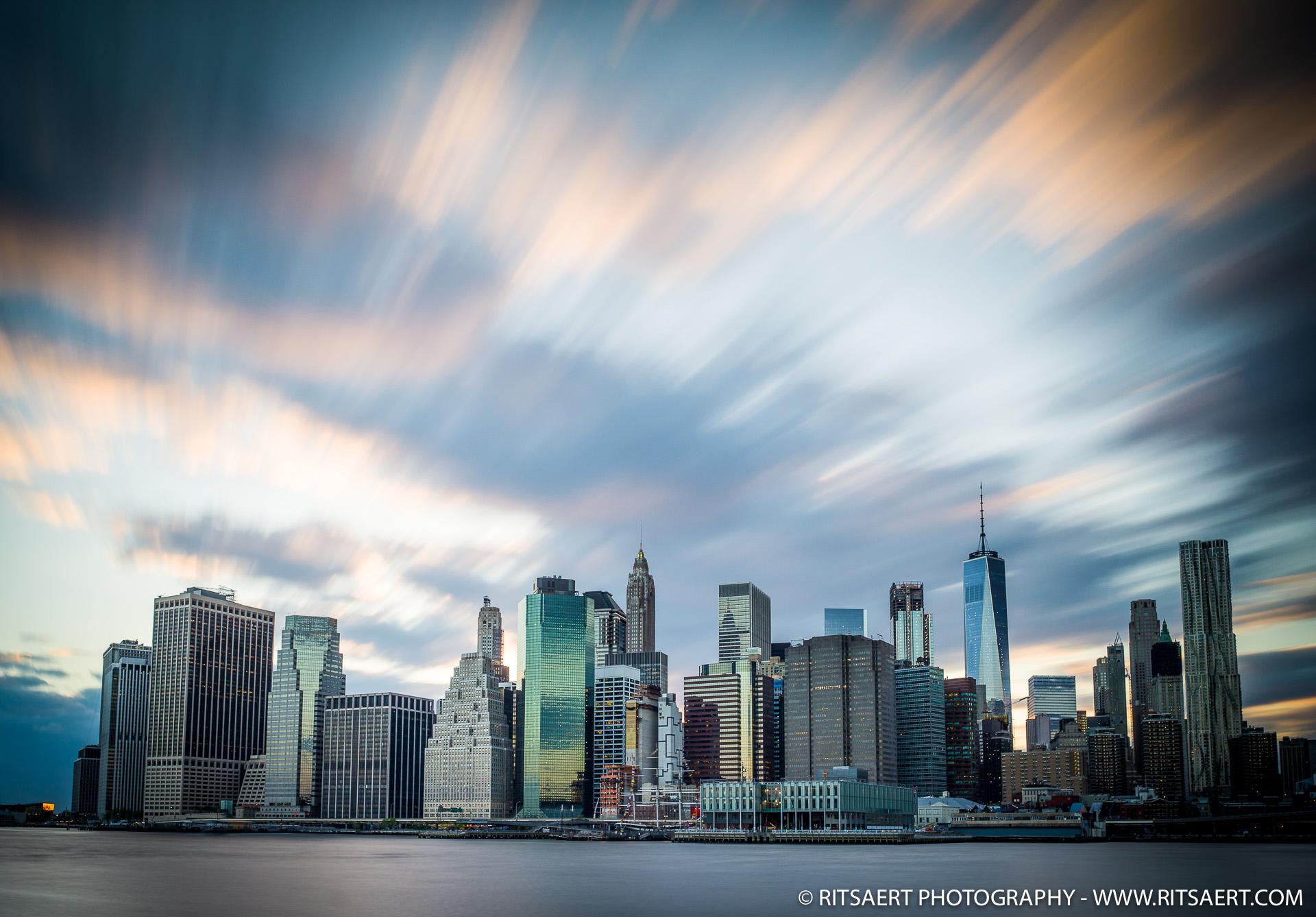 Sunset Manhatten - New York - USA