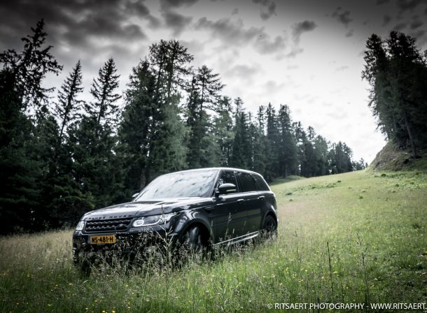 Range Rover Sport in natural habitat