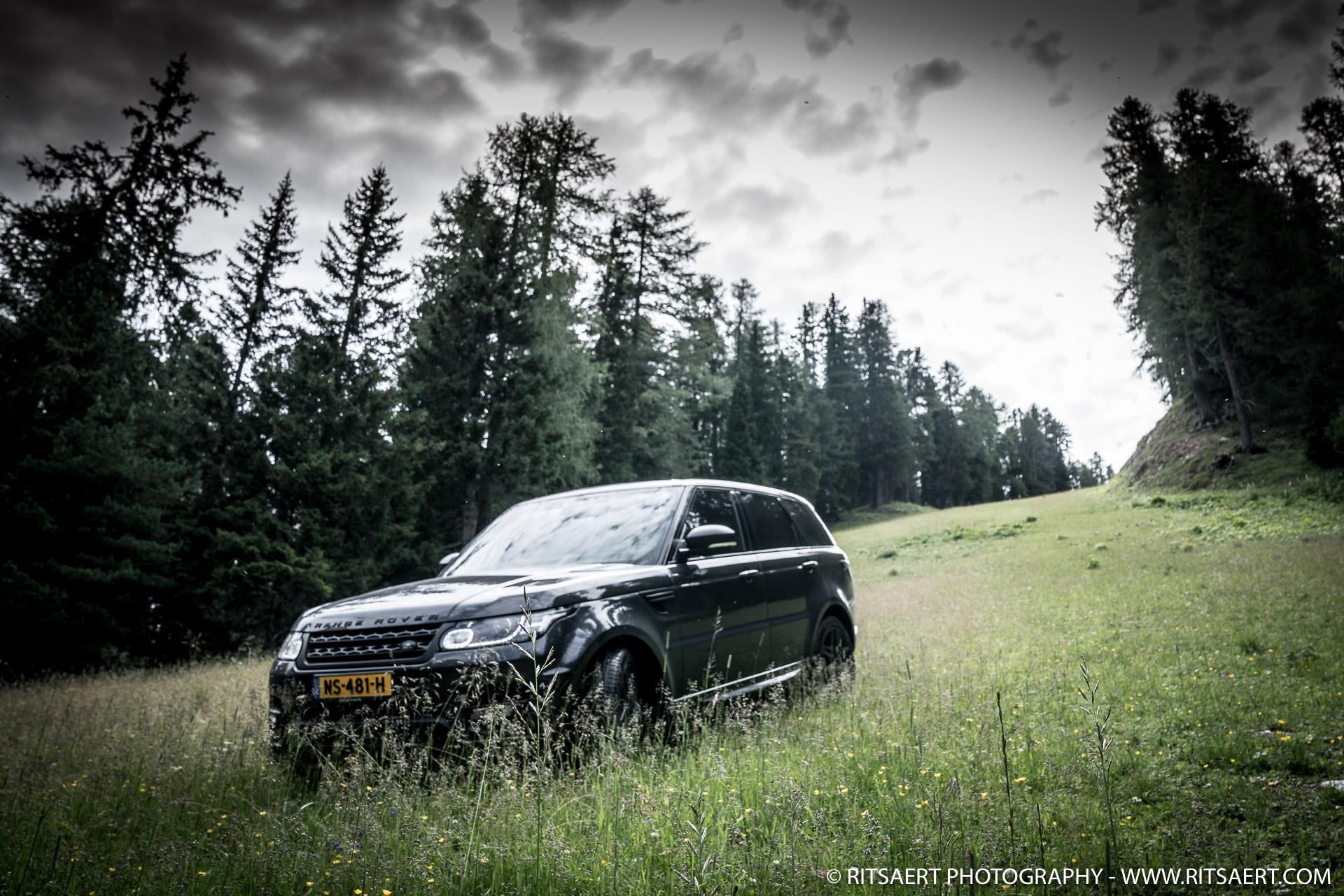Range Rover Sport in natural habitat