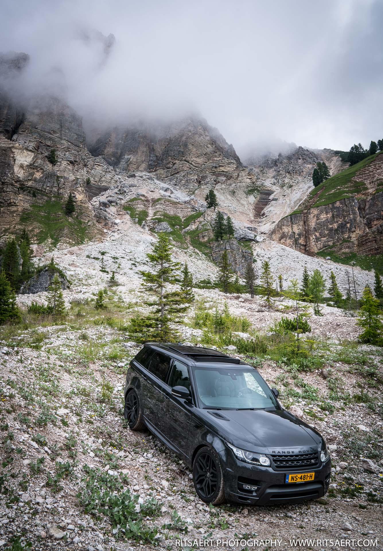 "Great ""Range"" through the Dolomites Italy"