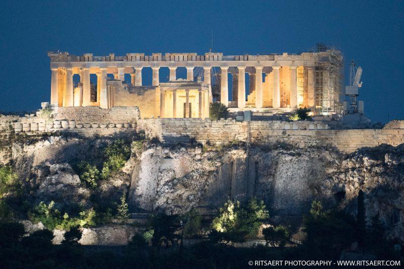 Blue hour - Athens - Greece