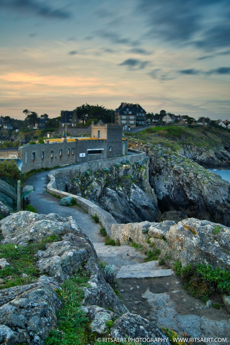 Sunset at Saint Lunaire - Bretagne - France