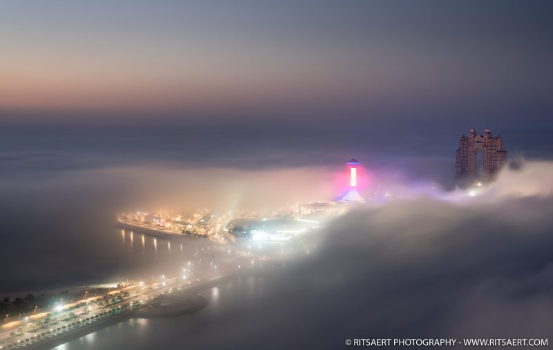 Marina under the clouds - Abu Dhabi
