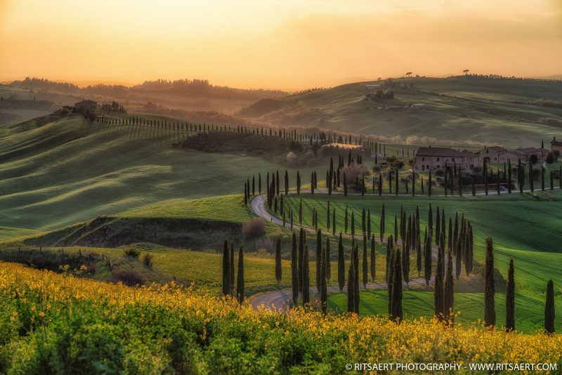 Sunset in Tuscany - Italy