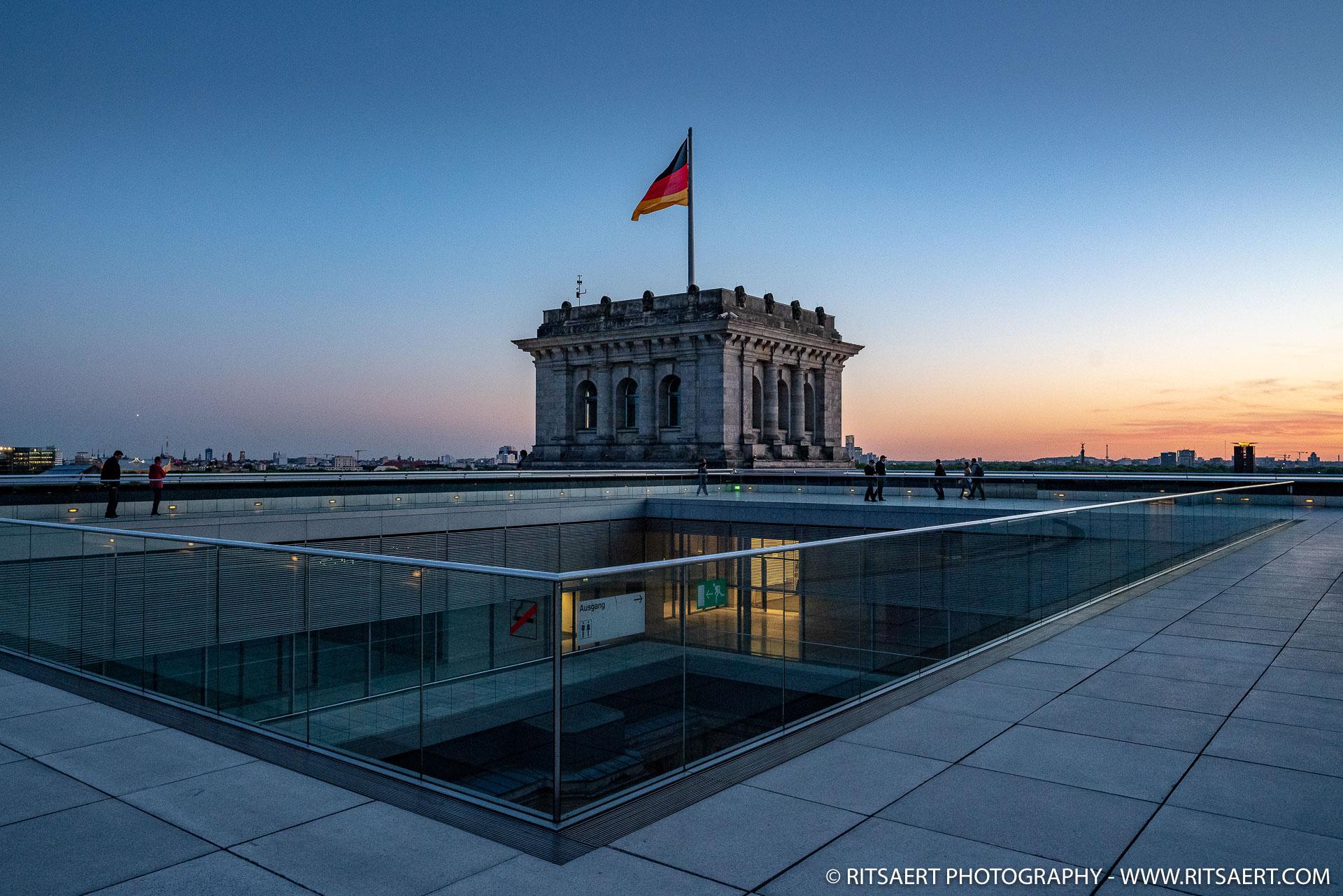 Roof top - Reichstag - Berlin - Germany
