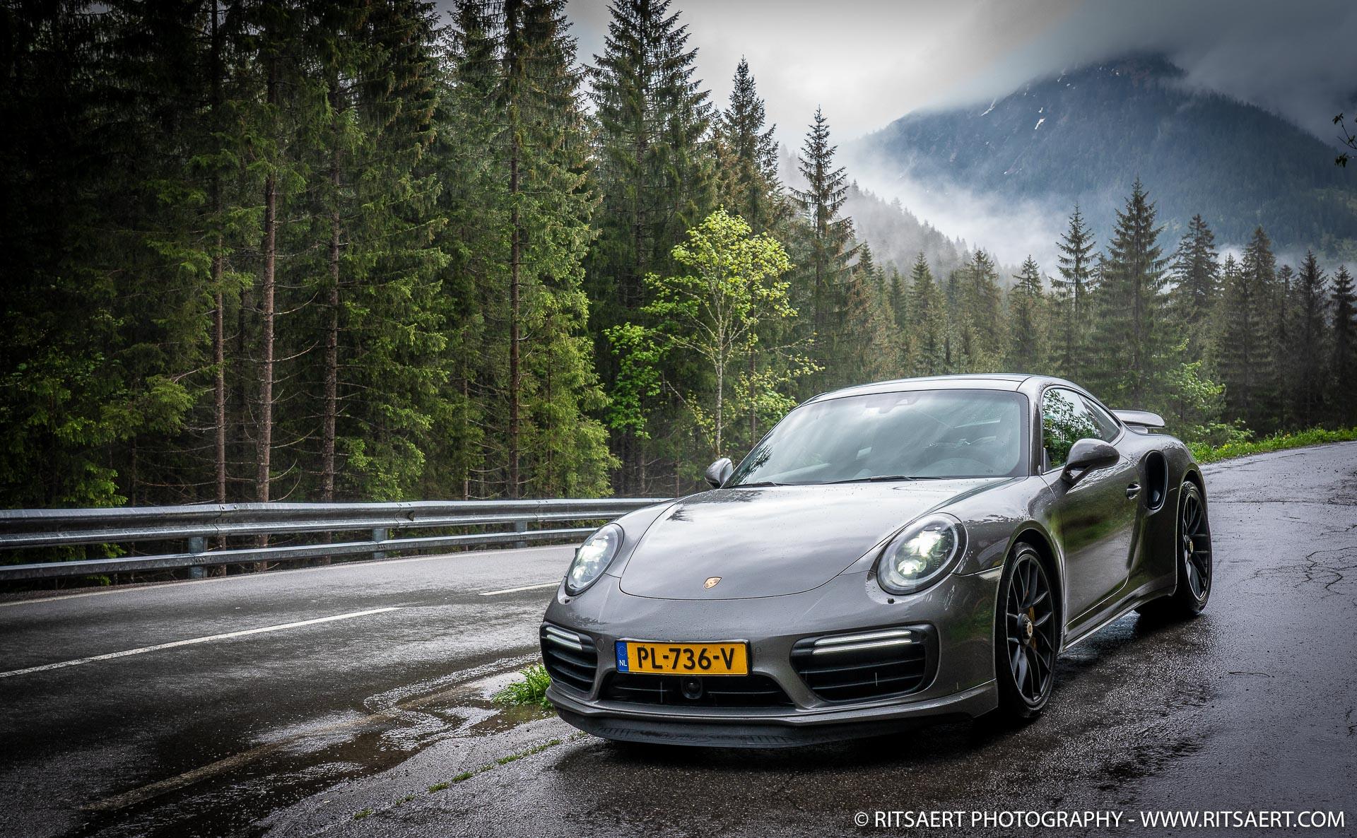 Porsche 911 Turbo - Berwang - Osterreich